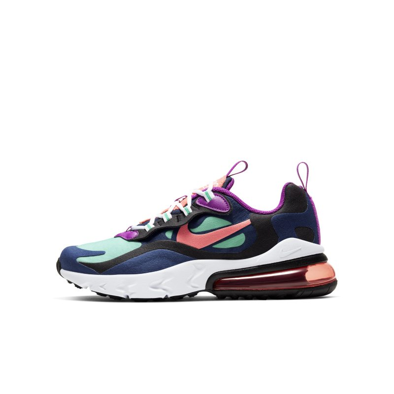 Nike Air Max 270 React Older Kids' Shoe - Blue