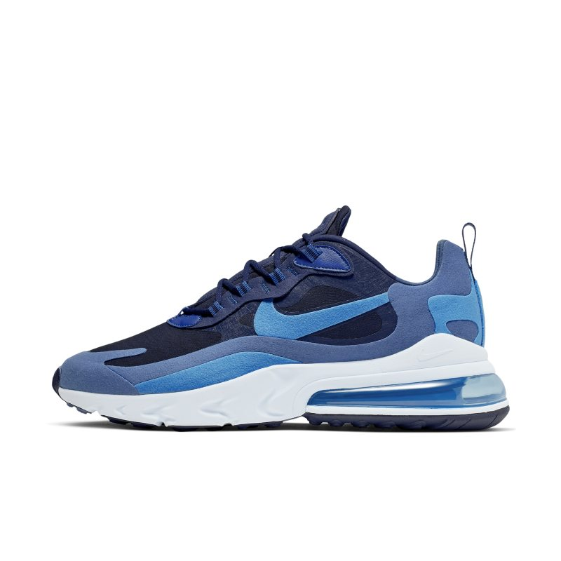 Nike Air Max 270 React (Impressionism Art) Men's Shoes - Blue