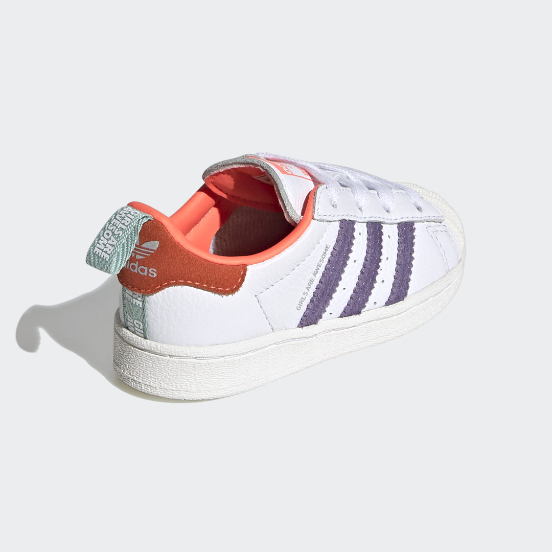 adidas Superstar EL Girls Are Awesome FW8119 02