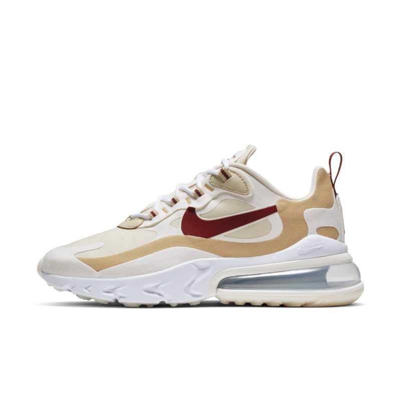 Nike Air Max 270 React Women's Shoe - Gold