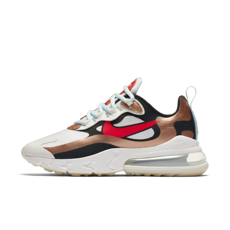 Nike Air Max 270 React Women's Shoe - Cream