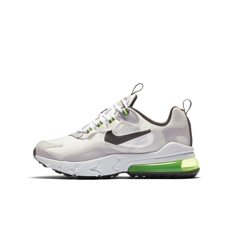 Nike Air Max 270 React Older Kids' Shoe - White