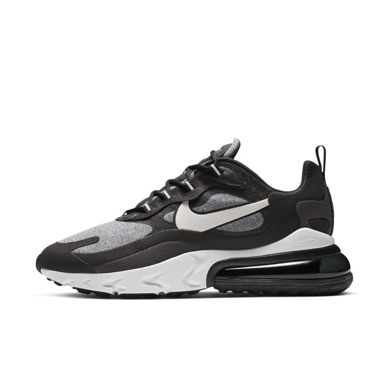 Nike Air Max 270 React (Op Art) Men's Shoes - Black