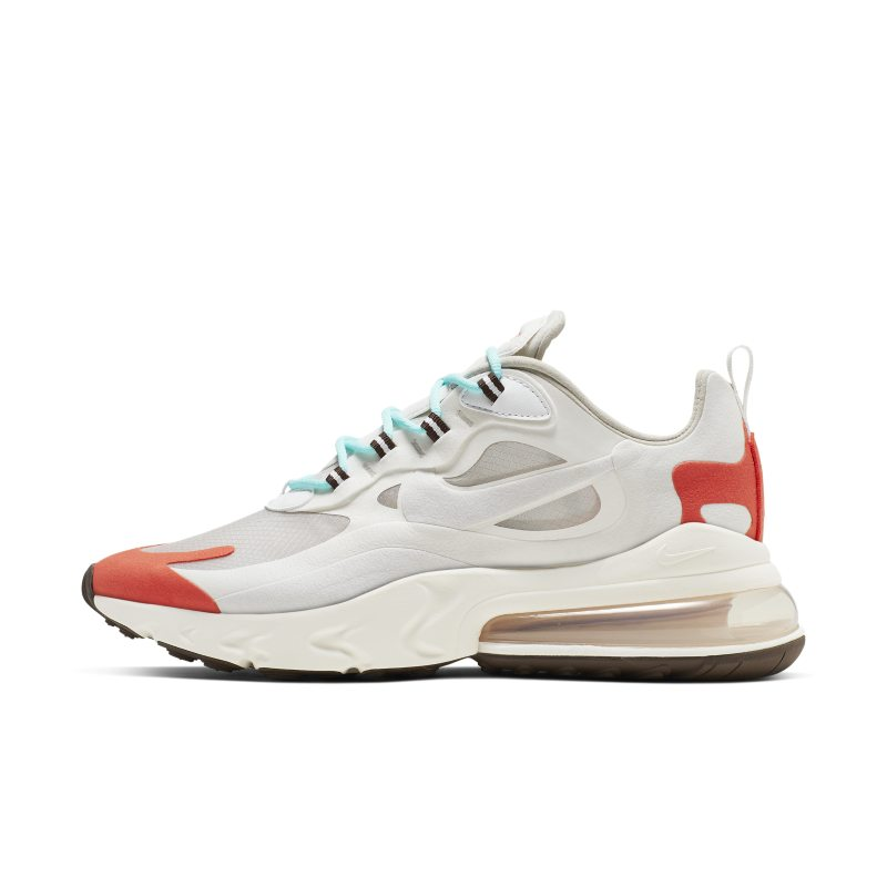 Nike Air Max 270 React (Mid-Century Art) Men's Shoes - Brown