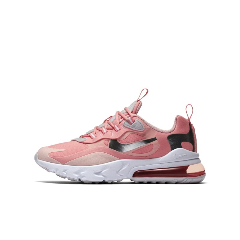 Nike Air Max 270 React Older Kids' Shoe - Pink