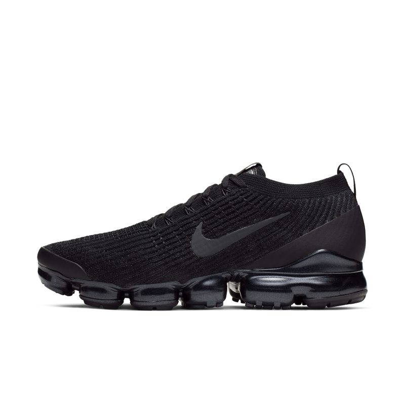 Nike Air VaporMax Flyknit 3 Men's Shoe - Black