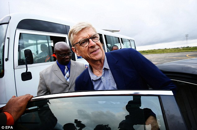 Wenger to meet Nigeria's Gernot Rohr and other  national coaches over World Cup plan