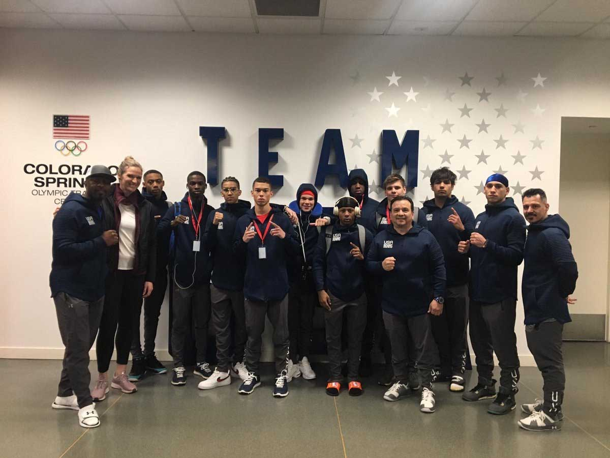 TYSON LEADS US BOXERS TO TOKYO 2020 OLYMPICS