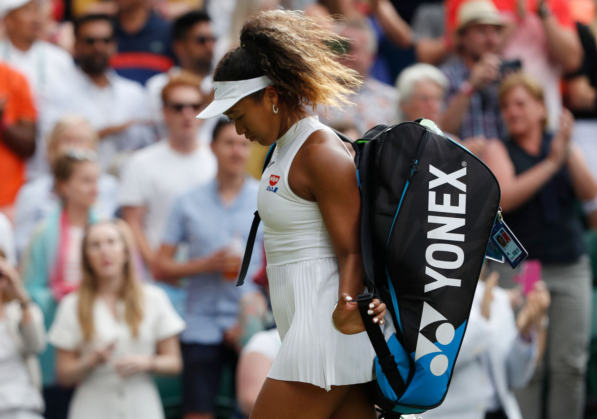 UPSET GALORE AT WIMBLEDON! 15-YEAR OLD SENDS WILLIAMS OUT; TOP SEED OSAKA IS OUSTED IN ROUND 1