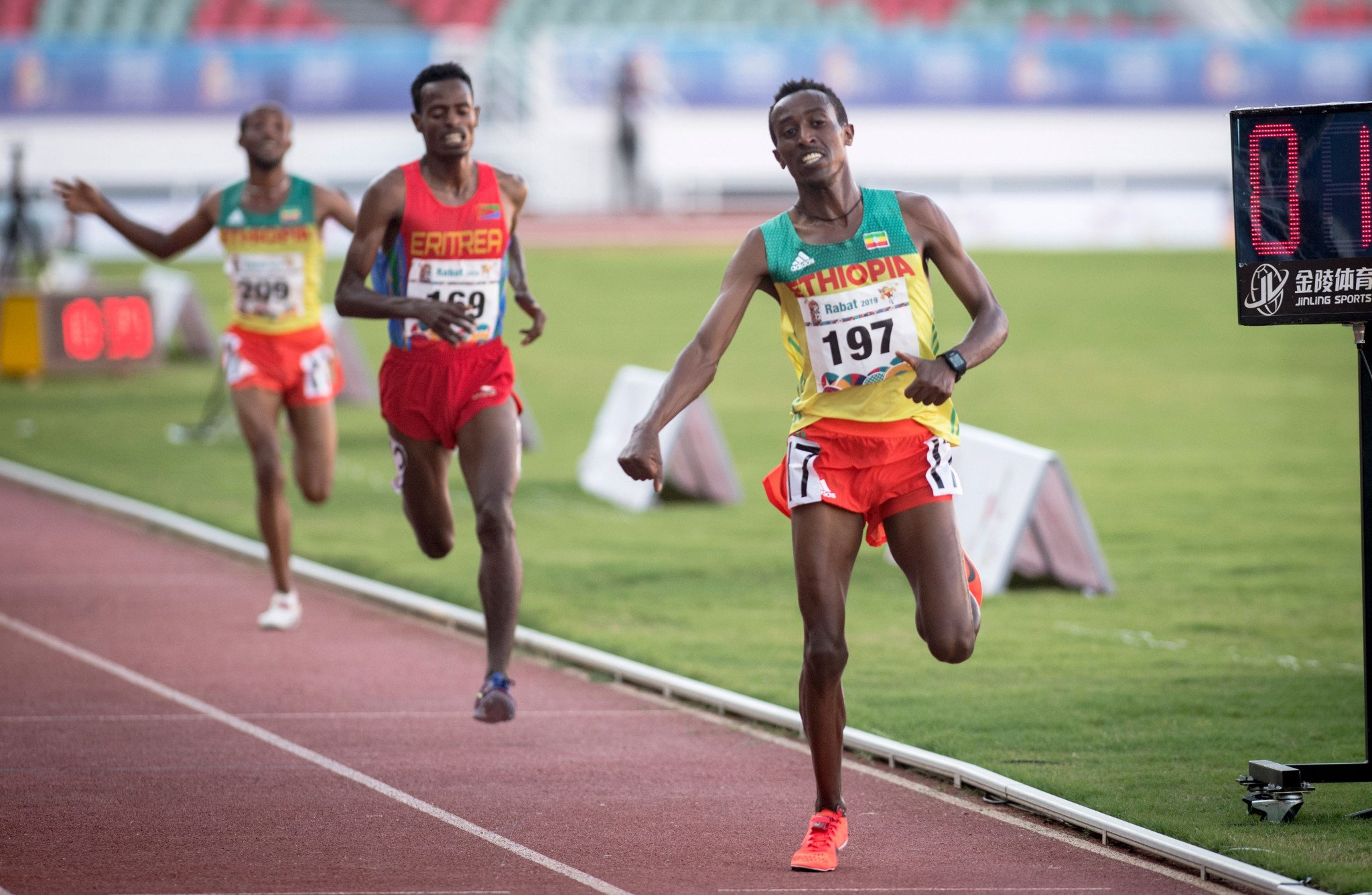 AFRICAN GAMES 10,000 METRES CHAMPION TESTS POSITIVE FOR DRUG