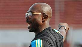 DOWN, NOT OUT, SAYS COACH IMAMA AMAPAKABO