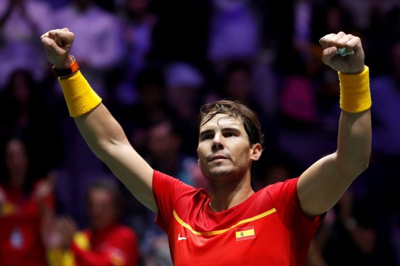 NADAL DRAWS SPAIN LEVEL WITH BRITAIN IN DAVIS CUP SEMIFINALS