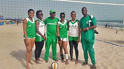 BEACH VOLLEYBALL: NIGERIA, ONE STEP AWAY FROM THE OLYMPICS SAYS COACH IMOUDU