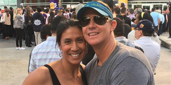 CRASH VICTIM, BRYANT'S DAUGHTER'S COACH, MOURNED BY HUSBAND