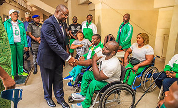 WINNING IS EVERYTHING, NIGERIA'S SPORTS MINISTER, DARE, DARES ATHLETES