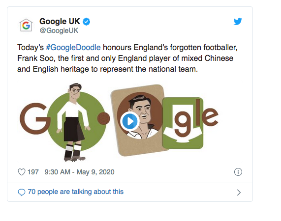 GOOGLE HONOURS THE ENGLISH MAN WHO COULD HAVE COACHED NIGERIA