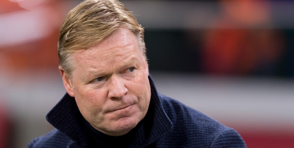 Ronald Koeman's agency hit out at Barcelona on Twitter
