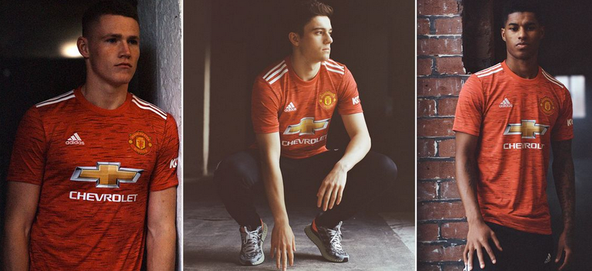 MANCHESTER UNITED UNVEILS NEW KIT TOMORROW