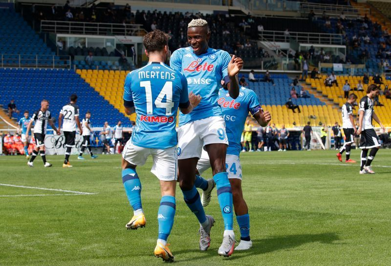 VICTOR OSIMHEN RECEIVES RARE PRAISES FROM NAPOLI COACH
