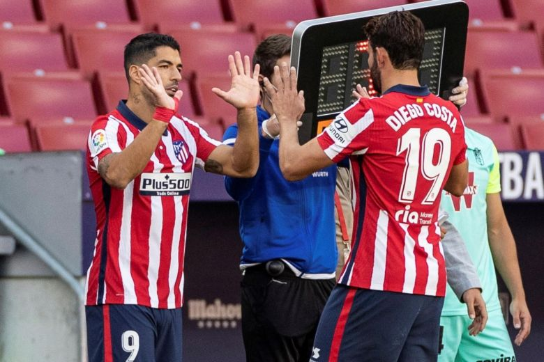 'I'LL DO THE FIGHTING, LUIS SUAREZ DOES THE BITING' – DIEGO COSTA THRILLED WITH NEW ATLETICO MADRID STRIKE PARTNER