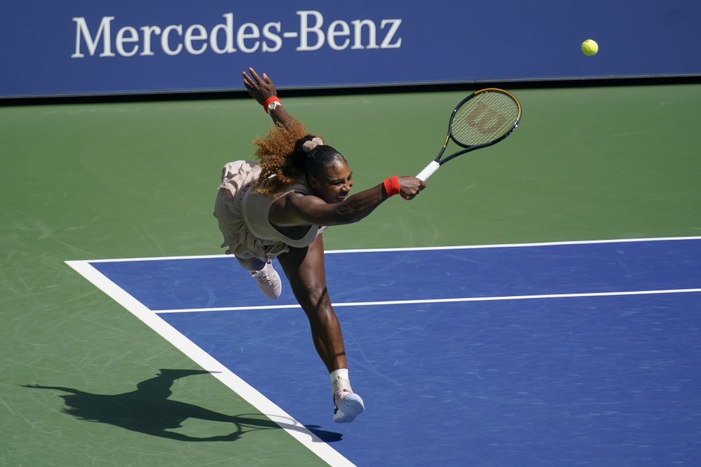'KEEP FIGHTING!' SERENA WILLIAMS YELLS HERSELF TO OPEN WIN