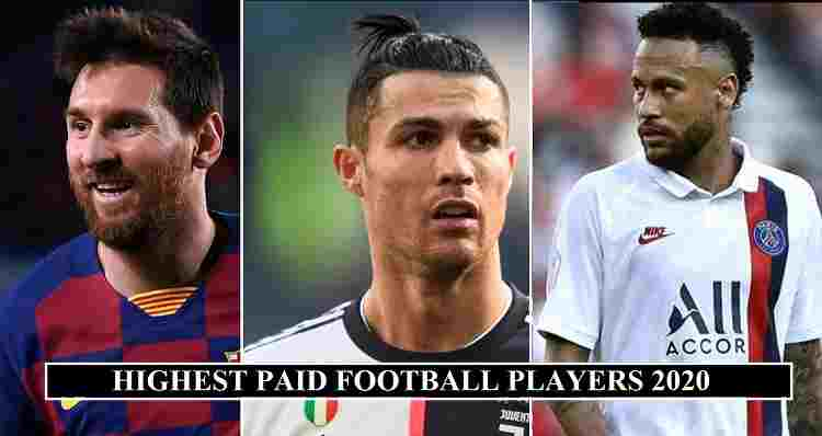 BEHOLD, FORBES' WORLD'S HIGHEST-PAID FOOTBALLERS