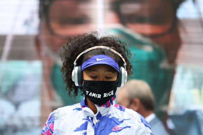 US OPEN: NAOMI OSAKA HARNESSES SPORT'S BIGGEST SPOTLIGHT IN FIGHT FOR RACIAL JUSTICE