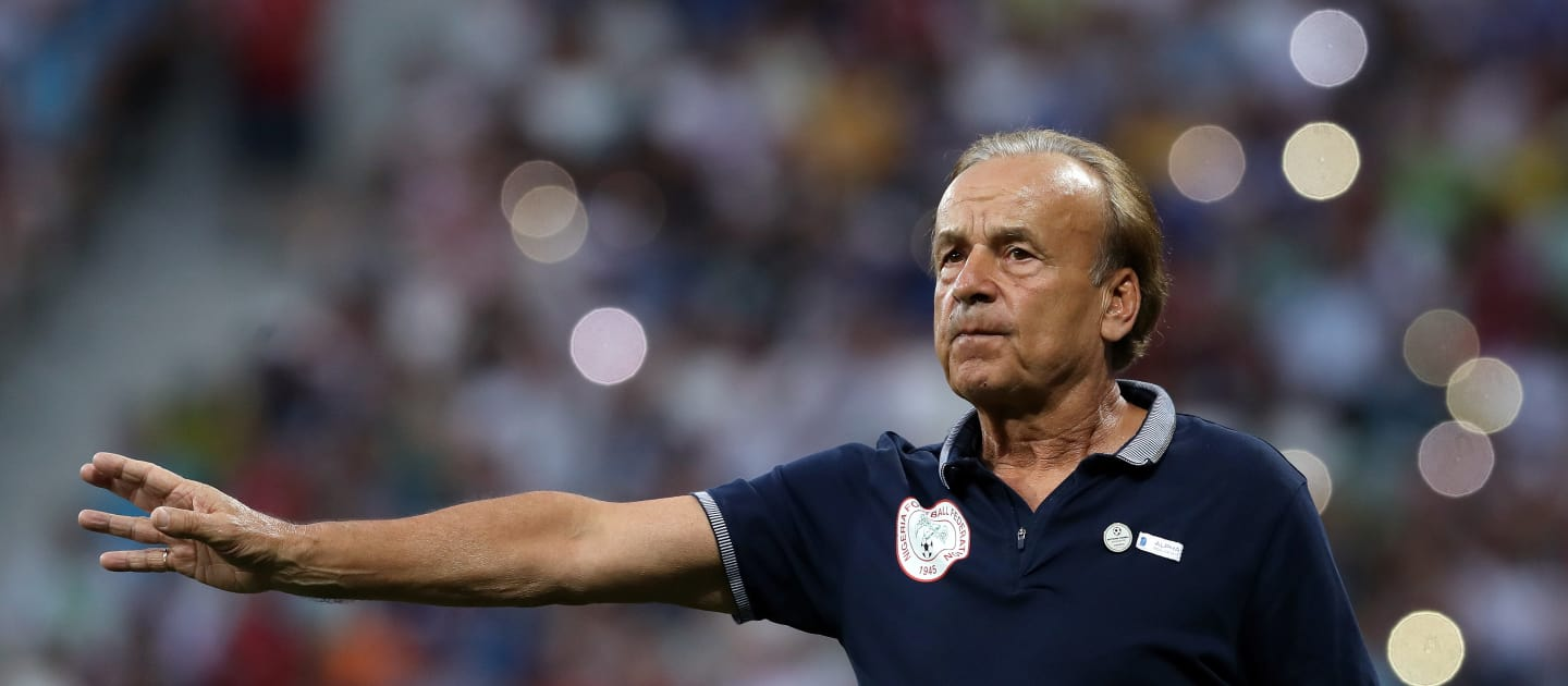 GERNOT ROHR DREAMS QATAR 2022 WORLD CUP QUARTERFINALS WITH SUPER EAGLES