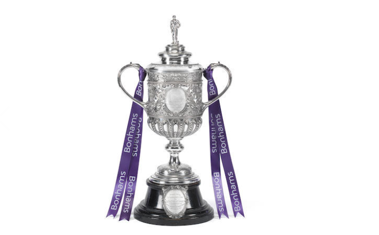 £25 OLD FA CUP FETCHES £760,000 TO SELLER