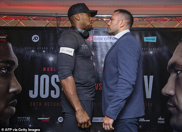 ANTHONY JOSHUA TO FIGHT KUBRAT PULEV DESPITE UK GOVERNMENT BAN ON CROWDS
