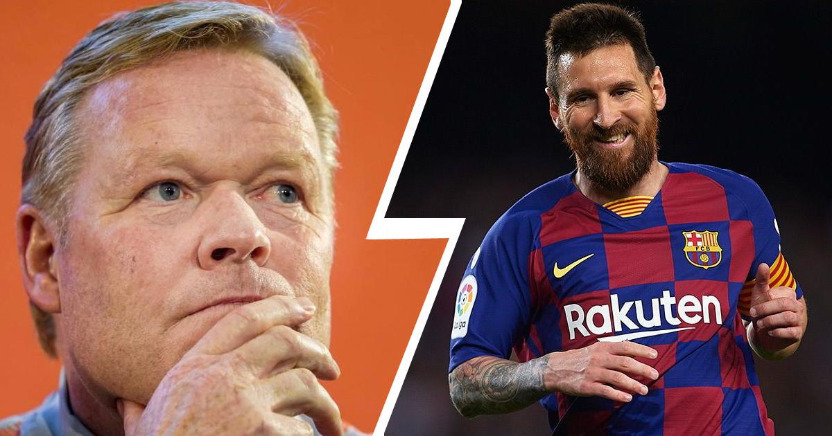 BARCELONA 'PUT 12 PLAYERS UP FOR SALE' TO RETAIN MESSI