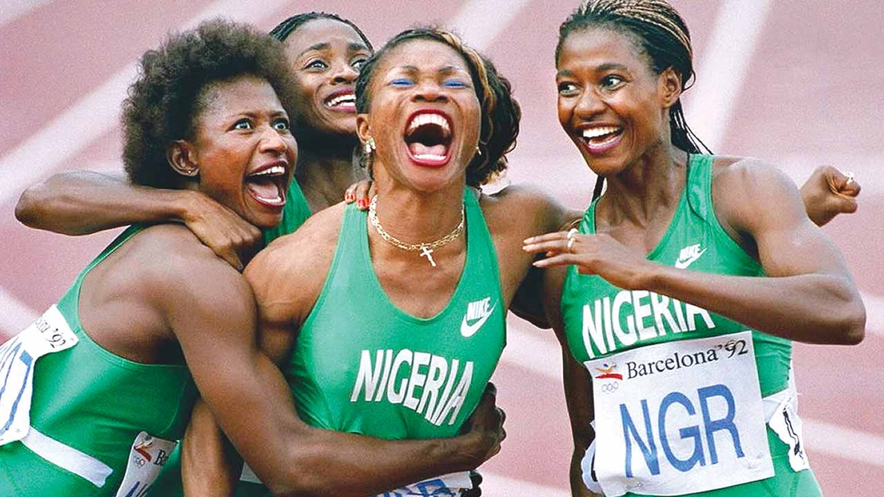 SIXTY DIAMOND MOMENTS OF NIGERIAN SPORTS HIGHLIGHT THE 60TH INDEPENDENCE ANNIVERSARY!