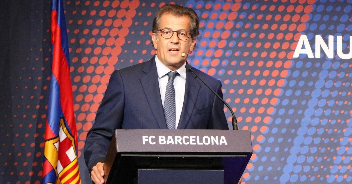 POSSIBLE SUCCESSOR TO BARTOMEU AS BARCA PRESIDENT EMERGES