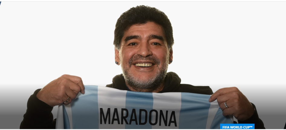HAPPY 60TH, DIEGO MARADONA, FIFA PAYS TRIBUTE TO A LIVING LEGEND