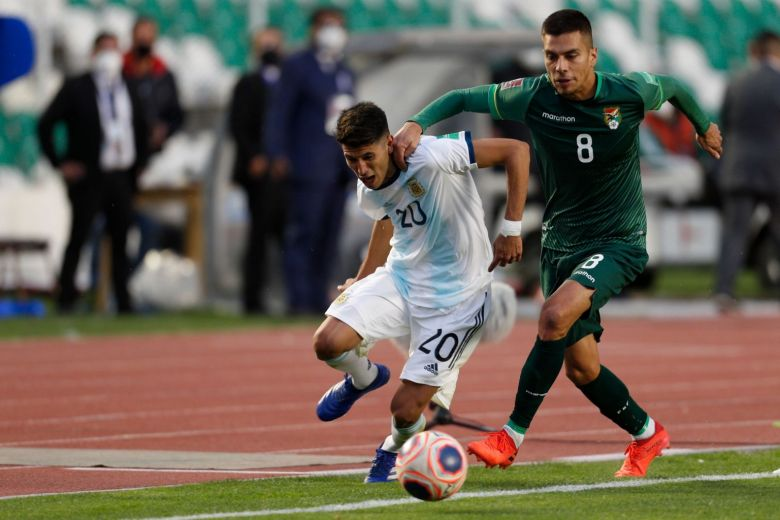 LATE GOAL GIVES ARGENTINA 2-1 WIN OVER BOLIVIA IN WORLD CUP QUALIFIERS