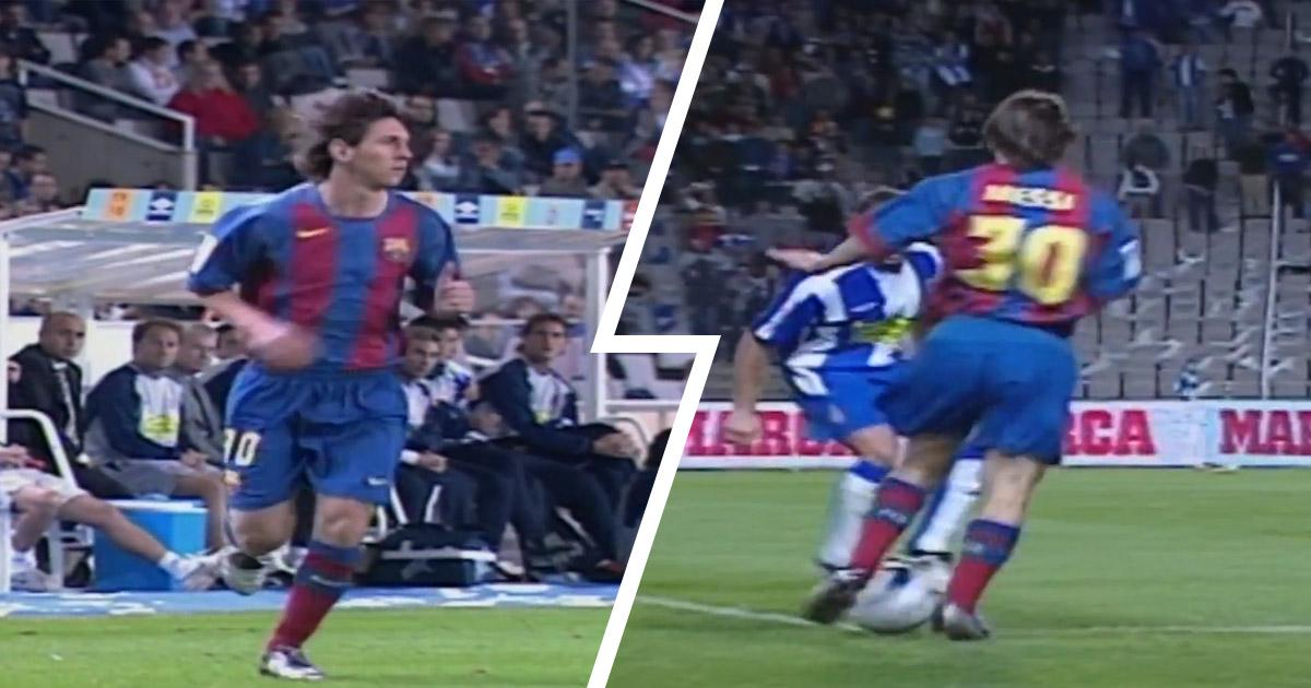 THIS DAY IN HISTORY: MESSI GETS 17-WORD REPORT ON BARCELONA DEBUT