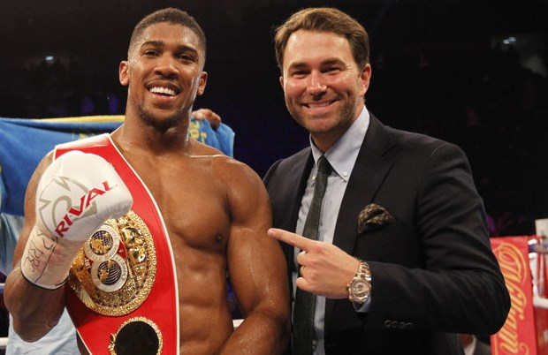 ANTHONY JOSHUA'S PROMOTER, EDDIE HEARN, TESTS POSITIVE FOR COVID-19
