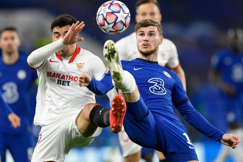 CHELSEA FRUSTRATED IN 0-0 CHAMPIONS LEAGUE DRAW WITH SEVILLA