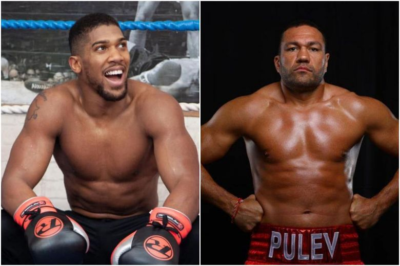 BULGARIAN BOXER KUBRAT PULEV ACCUSED OF RACIALLY ABUSING ANTHONY JOSHUA
