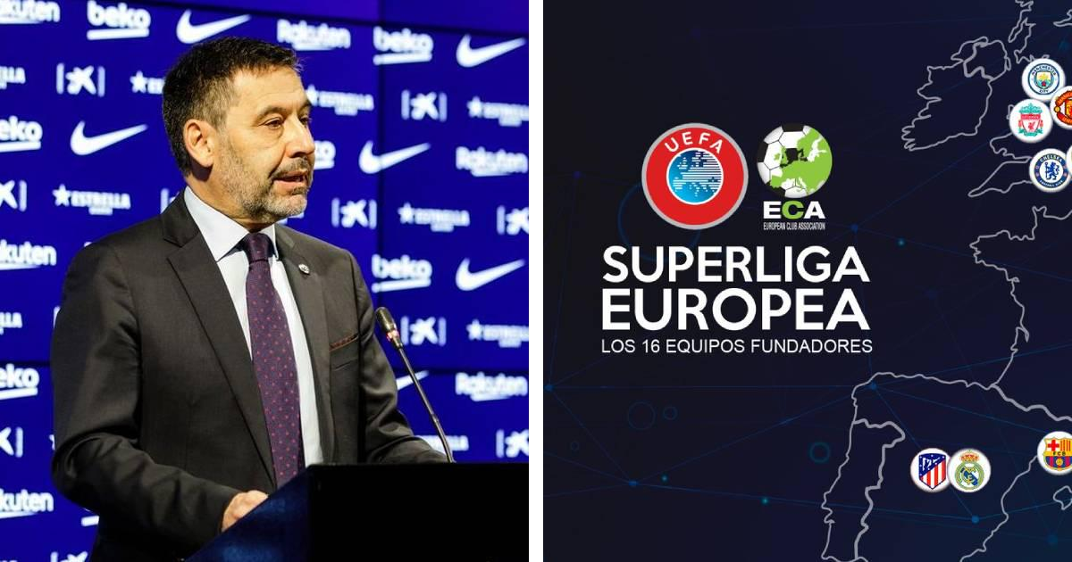 FORMER BARCA BOSS PLANNED TO TAKE CLUB OUT OF CHAMPIONS' LEAGUE