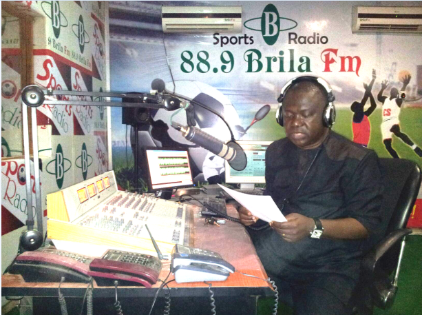 NIGERIA'S PIONEER SPORTS RADIO OWNER, LARRY IZAMOJE MAKES SPORTS ICON LIST