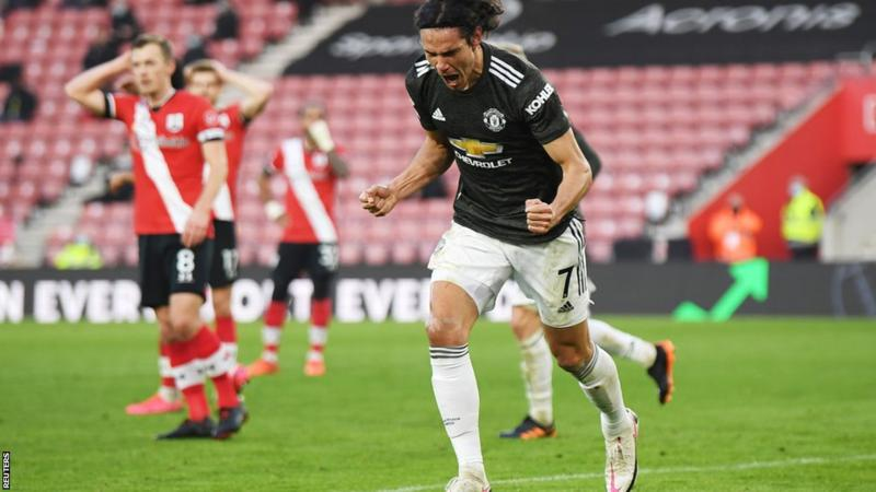 SUPER SUB CAVANI SEALS COMEBACK WIN FOR MAN UTD