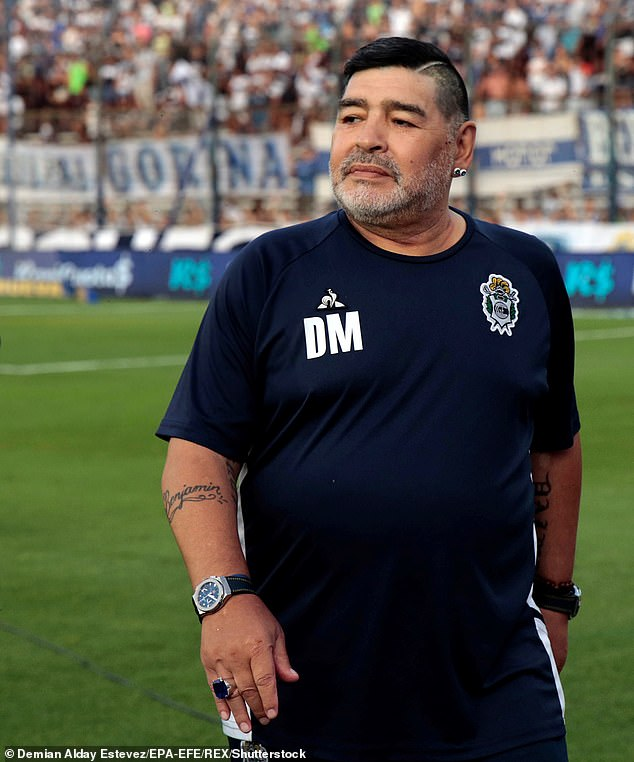 MARADONA IN RECOVERY AFTER SUCCESSFUL BRAIN SURGERY