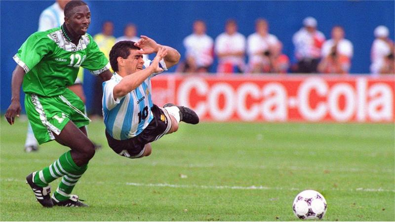 BBC RECALLS MARADONA'S LAST GAME…IT WAS AGAINST NIGERIA