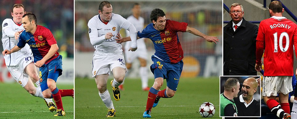 WAYNE ROONEY WANTED TO TEAM UP WITH MESSI 10 YEARS AGO