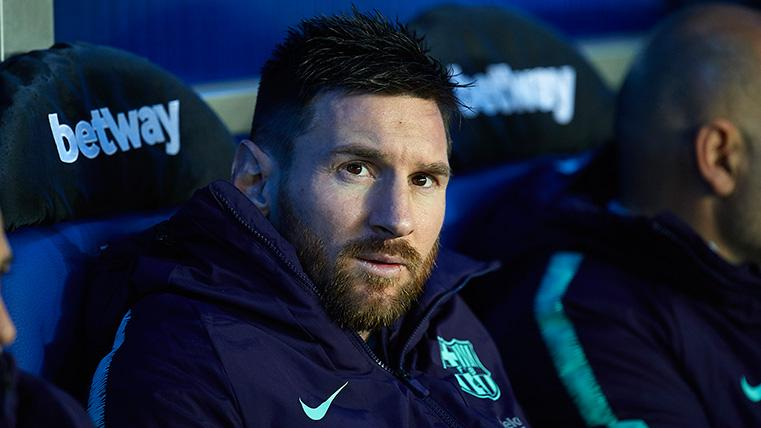 COACHING? COUNT ME OUT SAYS MESSI, PREFERS SPORTING DIRECTOR ROLE