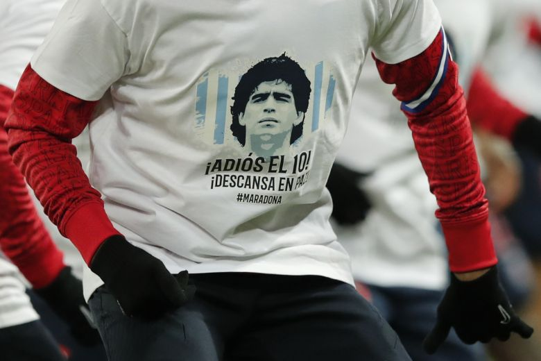 FOOTBALL LEAGUES WORLDWIDE PAY TRIBUTES ON FIRST WEEKEND WITHOUT MARADONA