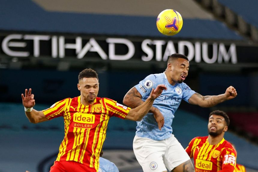 MAN CITY HELD TO HOME DRAW BY LOWLY WEST BROM