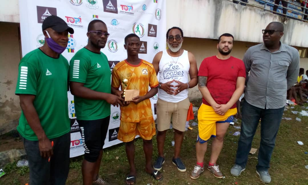 TOPPRO SPORTS TAKE GRASSROOT SOCCER STAR ABROAD