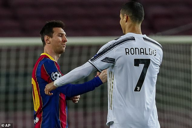MESSI AND I ARE PALS, NOT RIVALS, SAYS RONALDO